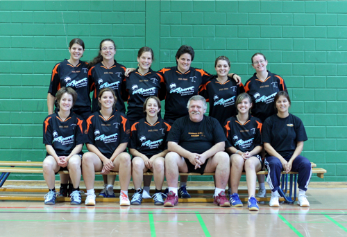 Equipe dames 2010 2011